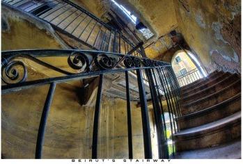 Beirut's Stairway