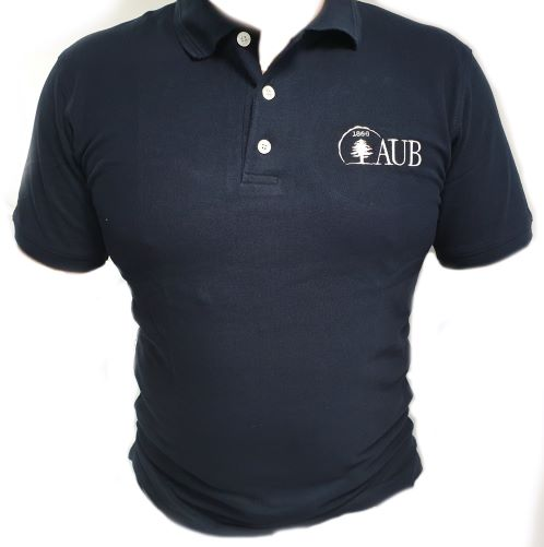 AUB Polo Shirt Short Sleeves |  Navy | Female | Large