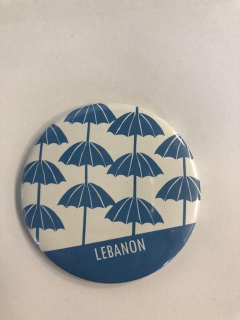 Magnet | Lebanon | Umbrellas