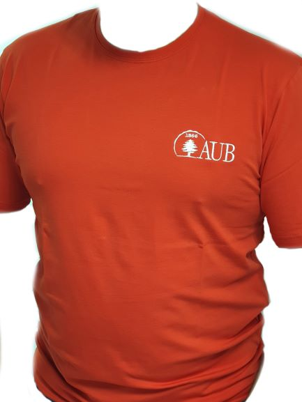 AUB T-SHIRT ROUND NECK SHORT SLEEVES | RED | XL