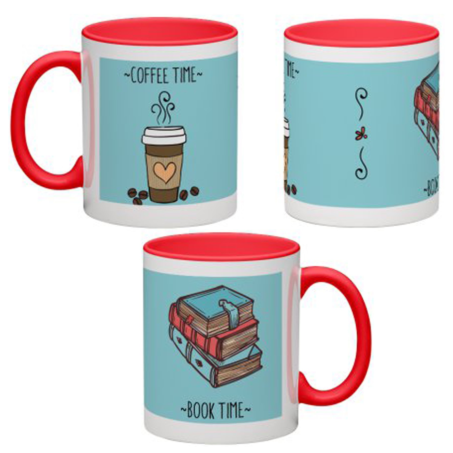 Mug Antoine | Coffee | ''Coffee Time-Book Time''