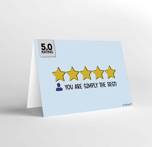 CARD You are simply the best