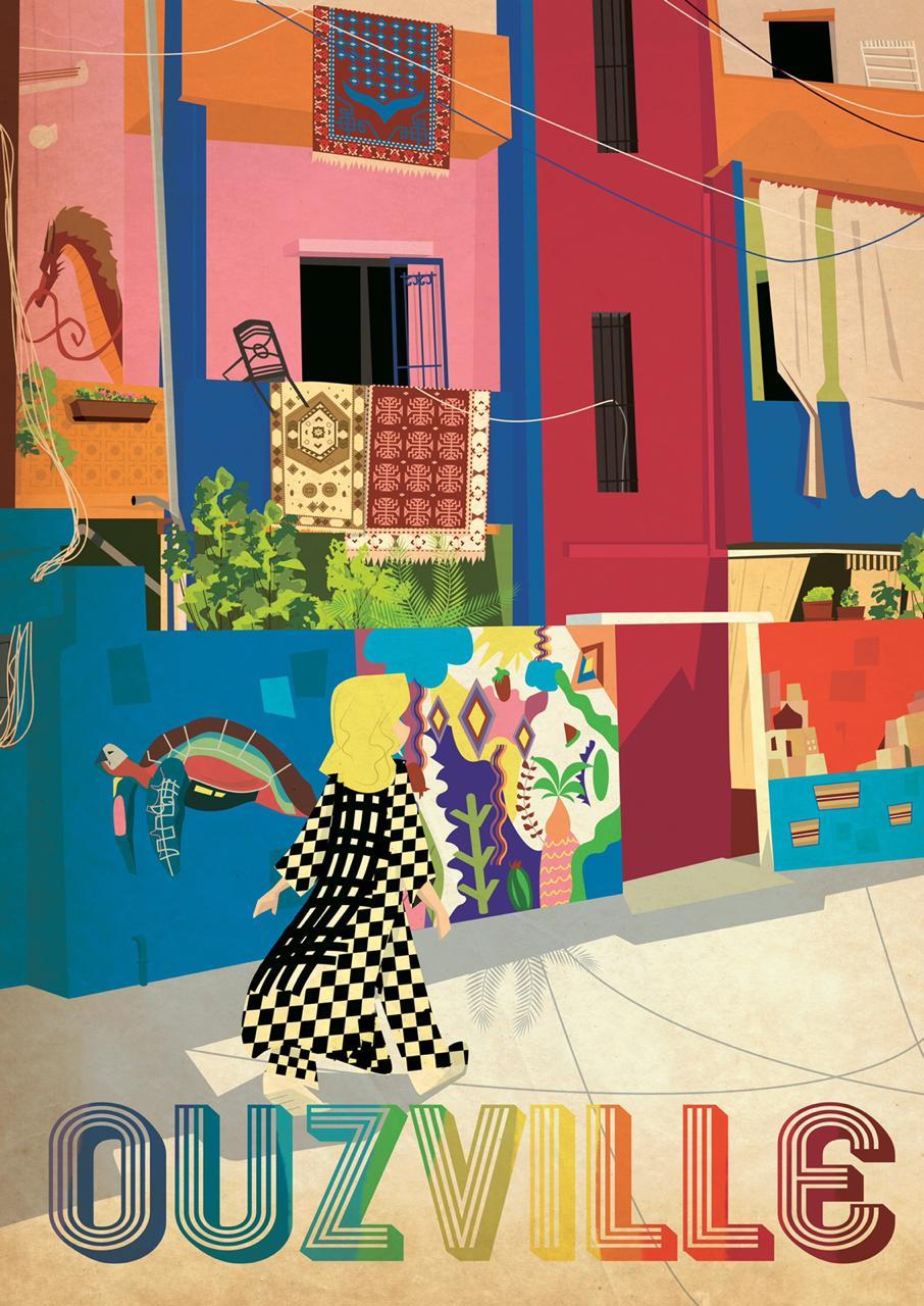 Vintage Beirut | Poster Ouzville | A1