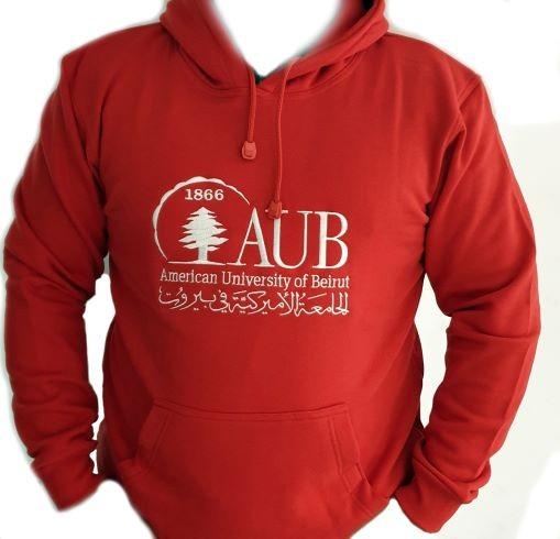 AUB FLEECE JACKET   RED   XL