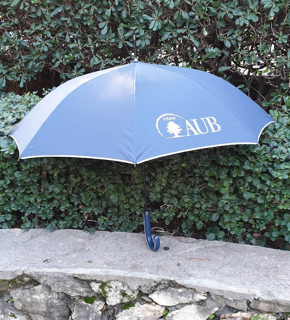 AUB | Umbrella | Black Metal Shaft | Navy