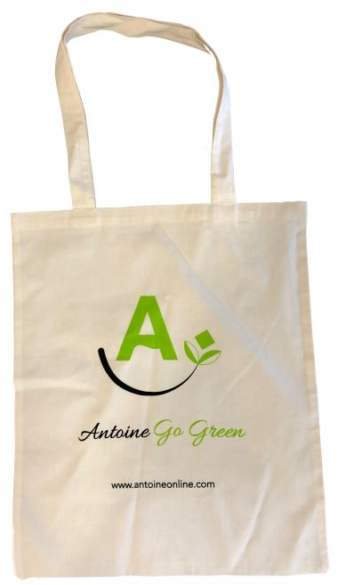 ANTOINE GREEN TOTE BAG