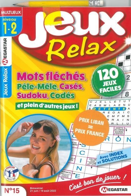 MG JEUX RELAX N7