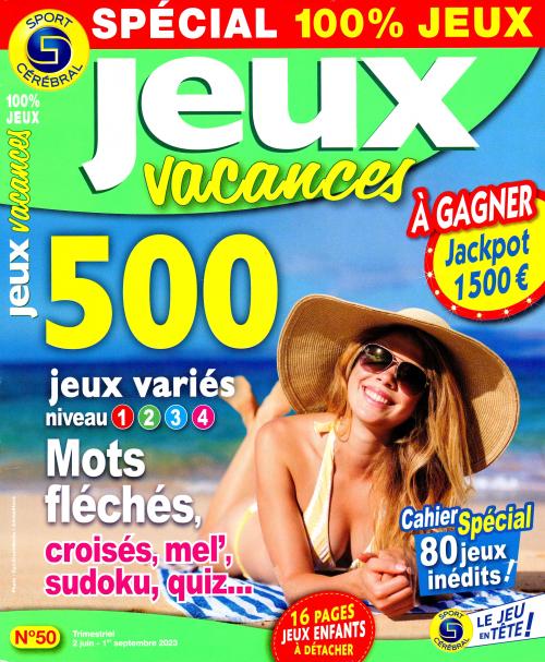 SC SPECIAL 100:% JEUX VACANCES N39