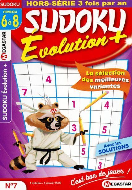 MG SUDOKU EXTREME HS EVOLUTION NIVEAU 6 A 8 N2