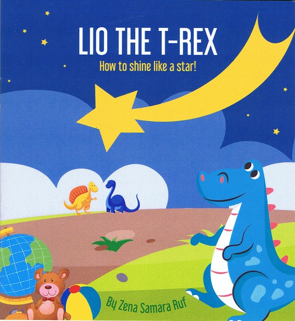 Lio the T-Rex: How to Shine Like a Star
