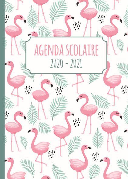Agenda Scolaire 2020-2021 - Flamingos