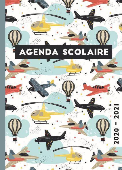 Agenda Scolaire 2020-2021 - Airplanes