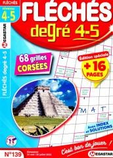 MG FLECHES DEGRE 4-5 N129