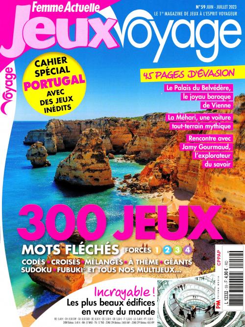 FEMME ACTUELLE JEUX VOYAGE N43