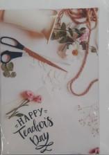 Teacher's Day card  Happy Teacher's Day