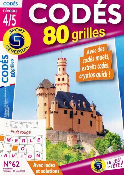 SC CODES 80 GRILLES NIVEAU 4 N54