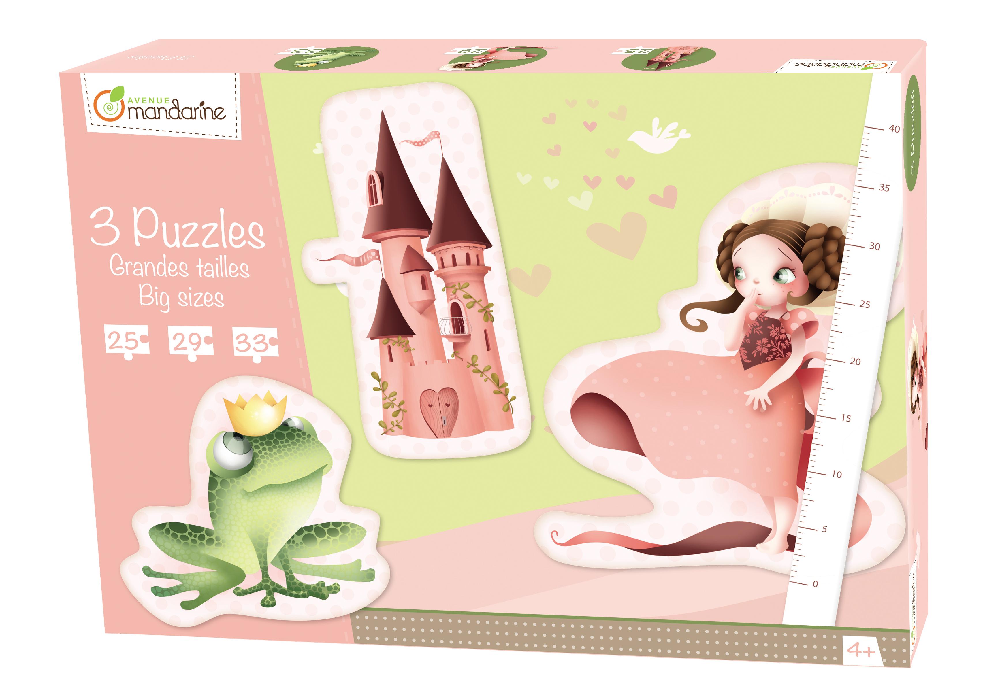 Puzzles 3 Geants Princesses