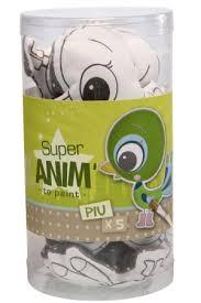 Lot de 5 Super Anim' Minis à peindre