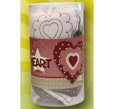 Lot de 5 Super Anim' Minis à peindre - Coeur