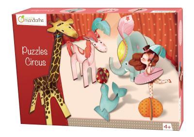 Puzzle En Volume Circus Garçon