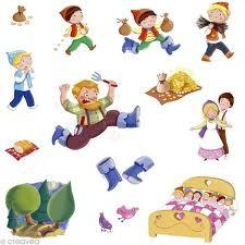 Stickers Petit Poucet 4Sh
