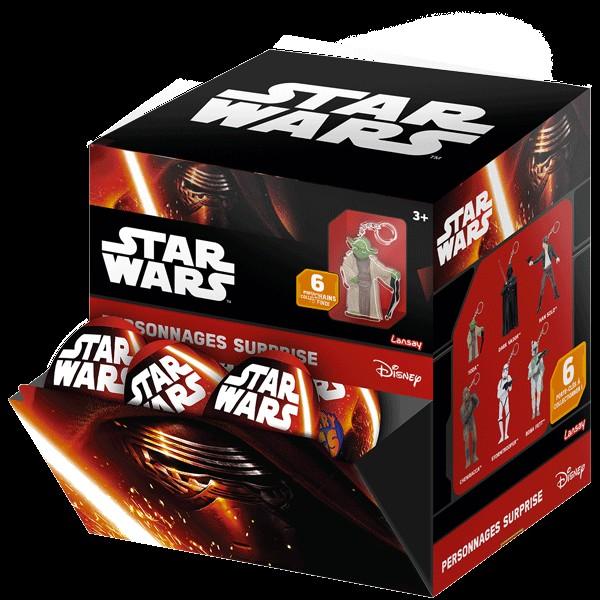 Star Wars Surprise Figurines Porte Cles