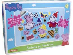 PEPPA PIG SCENE EN FEUTRINE