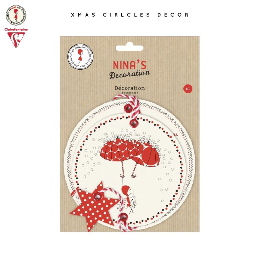 NINA DECORATION CARTE DESSIN SANS PELLICULLAGE