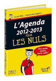 Agenda Pour Les Nuls 2012-2013