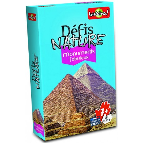 Défis Nature - Monuments fabuleux