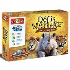 Le grand jeu Défis Nature   cartes collector