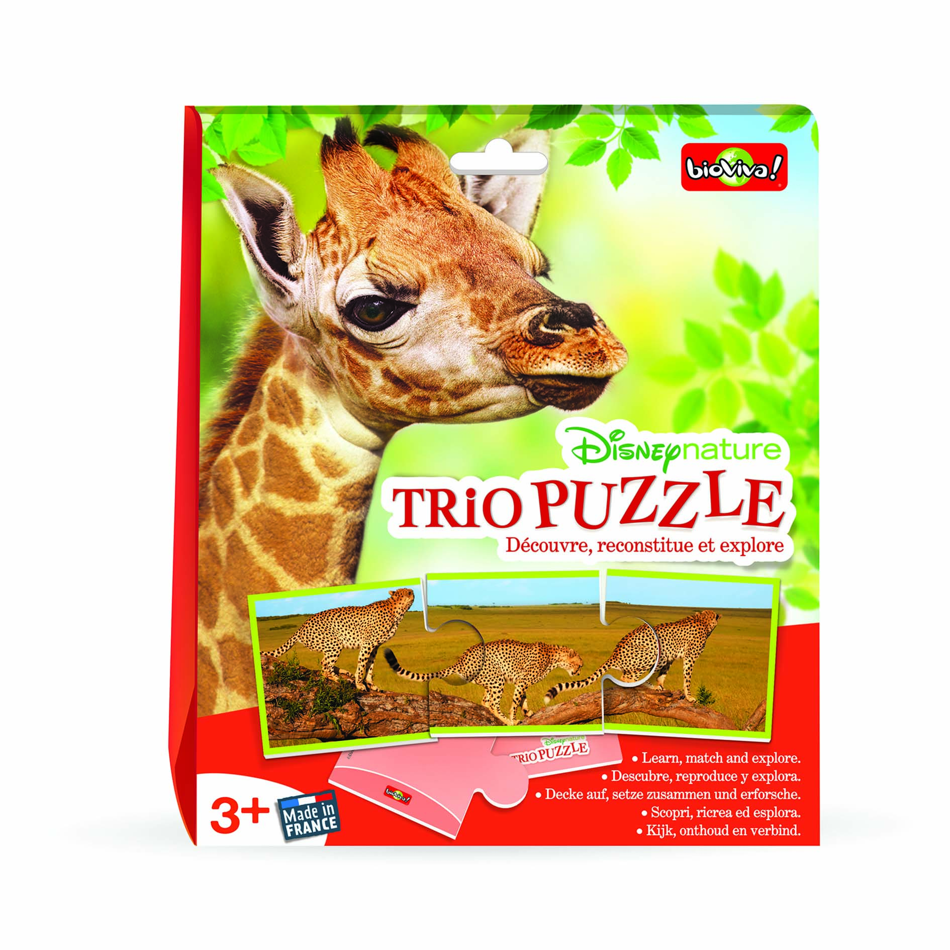 Trio Puzzle - Disneynature
