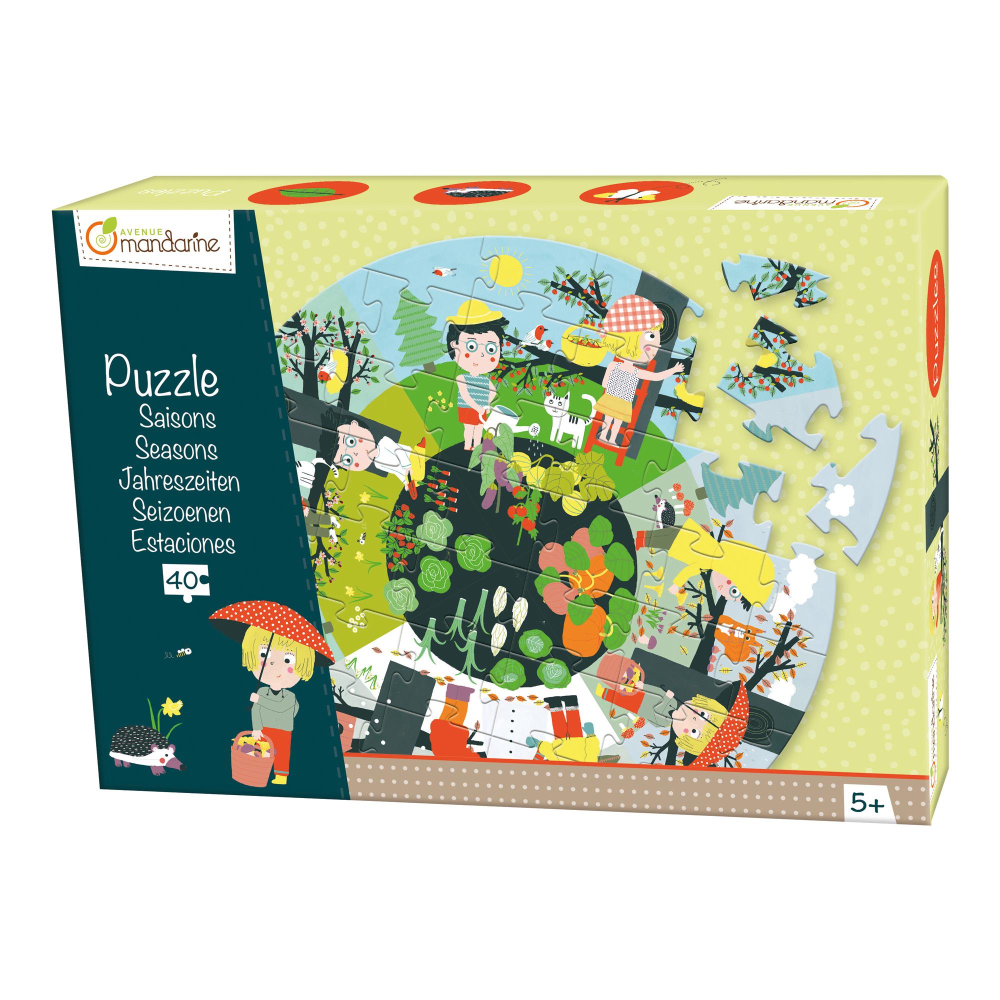 Puzzle en volume Les Saisons 40 pièces