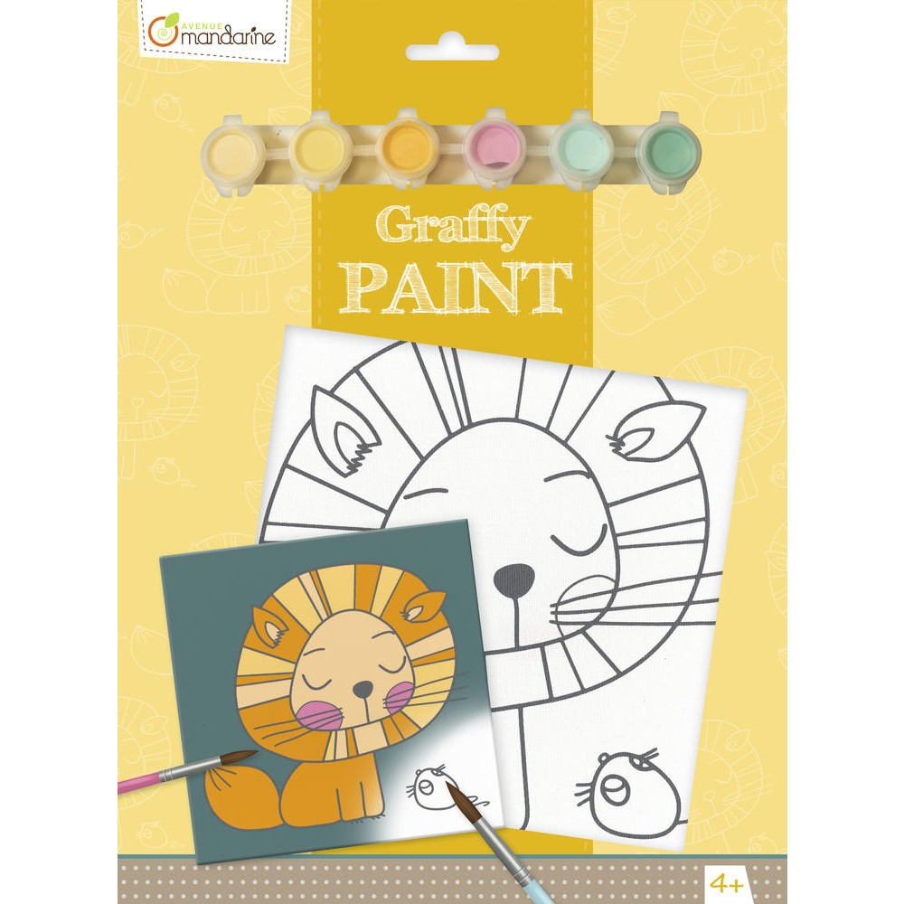 Graffy Paint Lion
