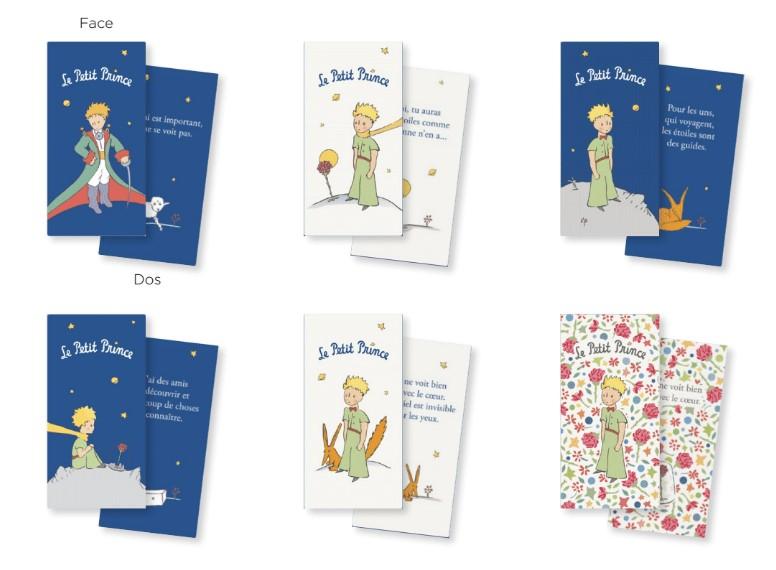 Marque-pages magnétiques Le Petit Prince