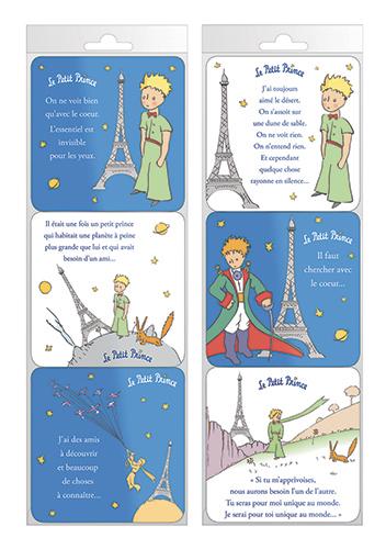 Sous-verres Le Petit Prince à Paris