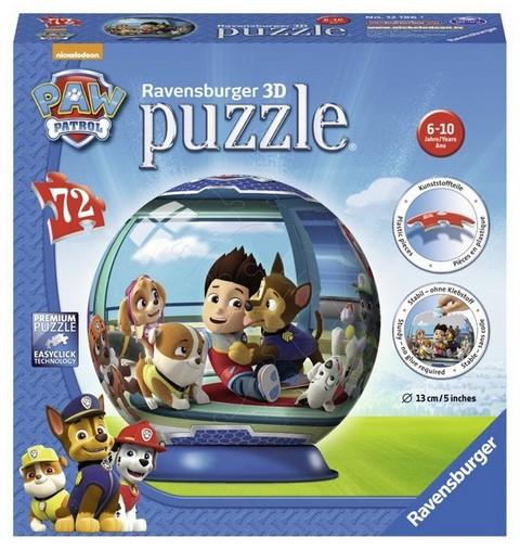 PAW PATROL 3D PUZZLE