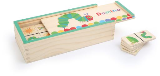The Very Hungry Caterpillar dominoes