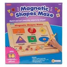 MAGNETIC SHAPE MAZE