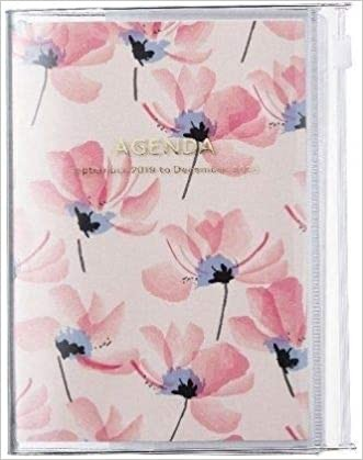 2020 Diary A6 vertical, Flower // Pink