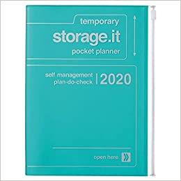 2020 Diary A5 vertical, Storage.it // Turquoise