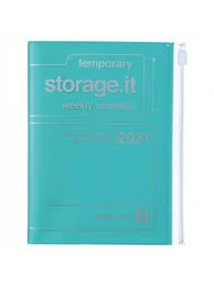 2021 Diary A6 Storage.it // Turquoise