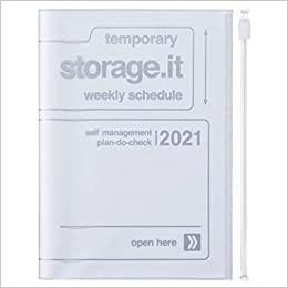 2021 Diary A6 Storage.it // White