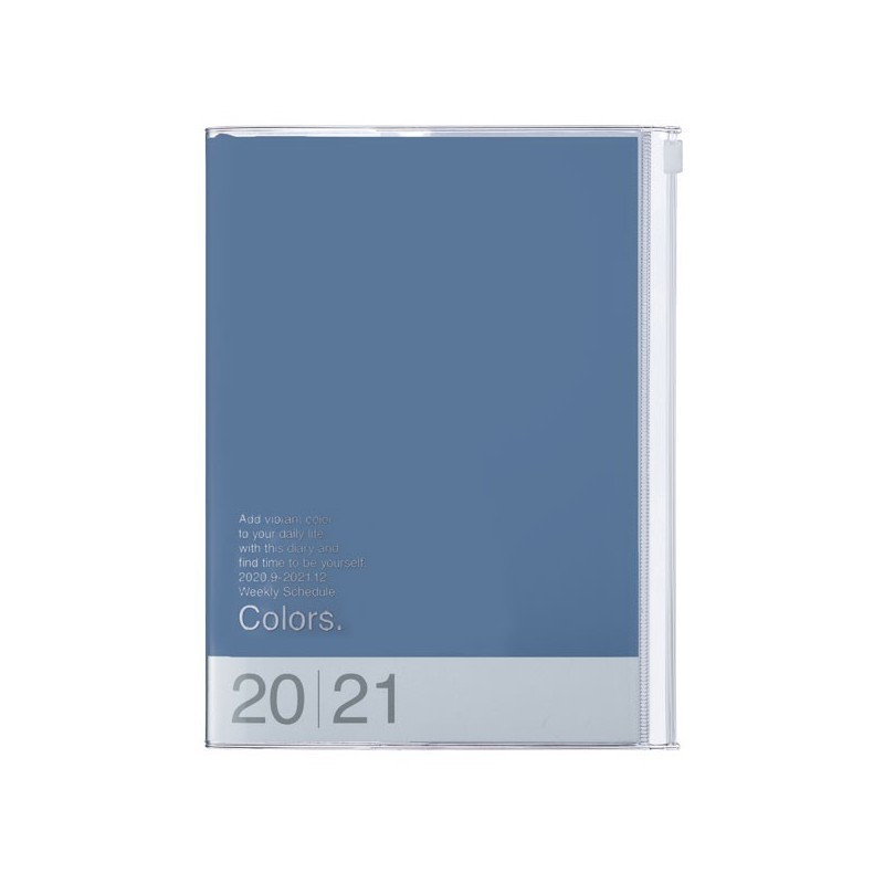 2021 Diary A6 Colors // Blue