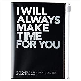 2021 Diary A6 Make time // Silver