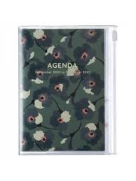2021 Diary A6 Flower // Green