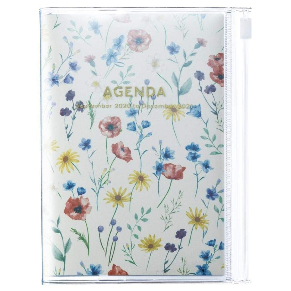 2021 Diary A6 Flower // Ivory