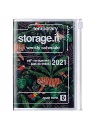 2021 Diary A6 Jungle // Black