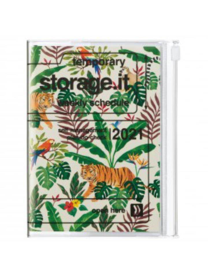 2021 Diary A6 Jungle // Beige
