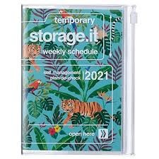2021 Diary A6 Jungle // Turquoise